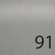 OF-91 Edelstahl gebürstet